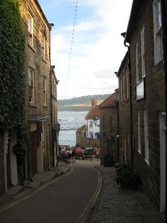 Ye Dolphin: view down the street