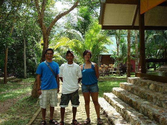 Busuanga Island Paradise: Jerik the tour guide in the middle, ain't he just CUTE??