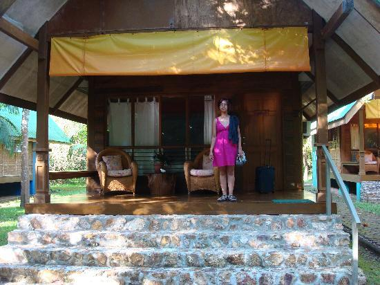 Busuanga Island Paradise: In front of our casita