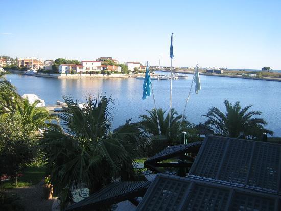 Hotel L'Ile de la Lagune: Vue depuis la chambre