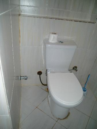 Panorama Bungalows Resort El Gouna: toilette im bungalow bei ankunft