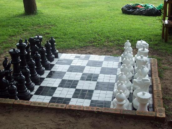 Nibela Lake Lodge: Garden games