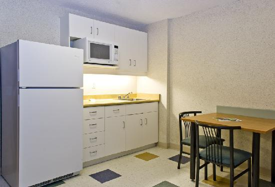 Residence & Conference Centre - Barrie: Kitchen in Suite