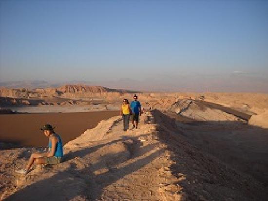 San Pedro de Atacama, Chile: VALLE DE LA LUNA