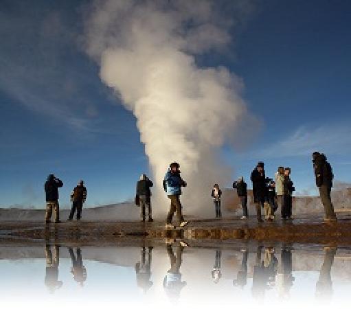 San Pedro de Atacama, Chile: GEYSERS DEL TATIO