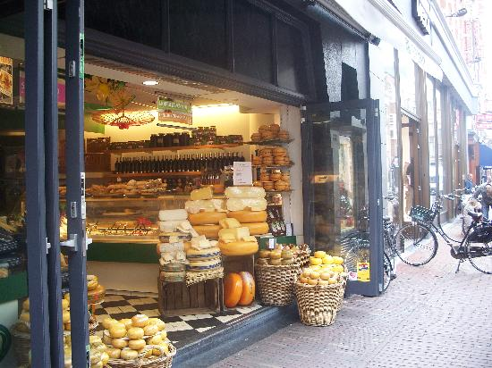 Haarlem Cheese store and street