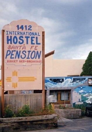 Santa Fe International Hostel: Santa Fe Hostel Sign