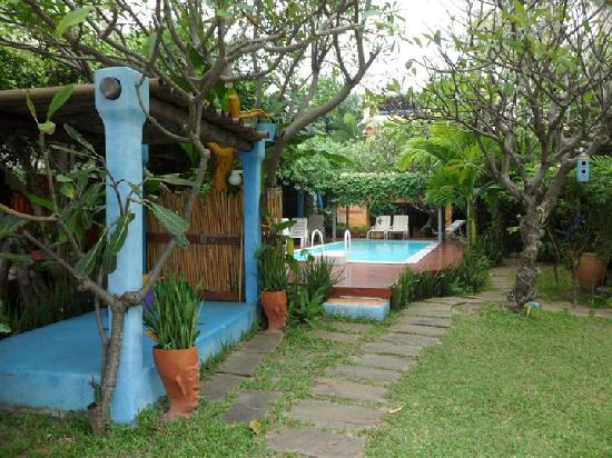 Casa Papaya Boutique Resort: The modest pool