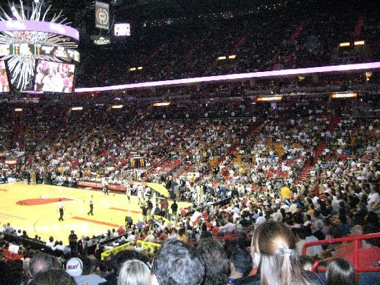 Miami, FL: went to a heats game while there