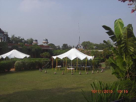 Bundelkhand Riverside: vue sur le parc