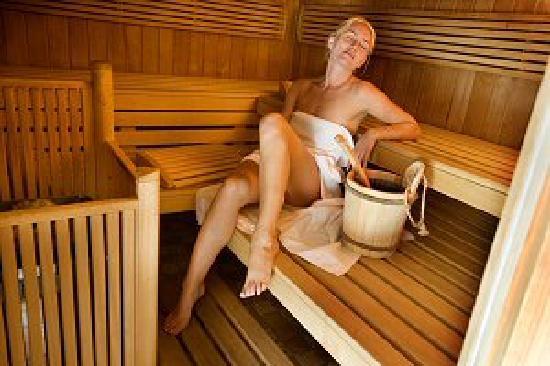 Hotel Wolkenstein: Sauna