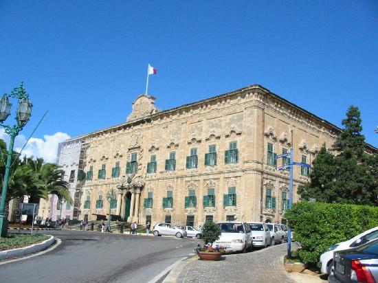 Valletta Waterfront: Auberge de Castille