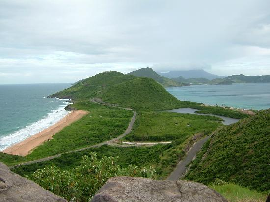Ride St.Kitts : Left: Atlantic, Right: Caribbean