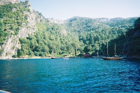 NOA Hotels Oludeniz Resort Hotel: Beautiful Spot, from a Boat Trip with the Hotel