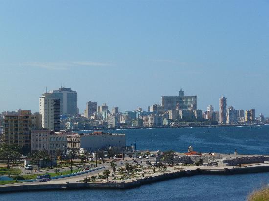 Havana, Cuba: la habana desde la cabaña