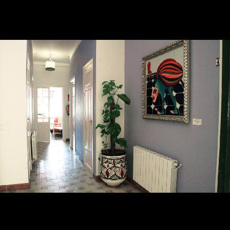 Villa Alicia Guest House: Pasillo