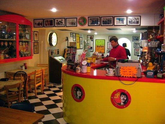 The Octopus Garden Cafe!