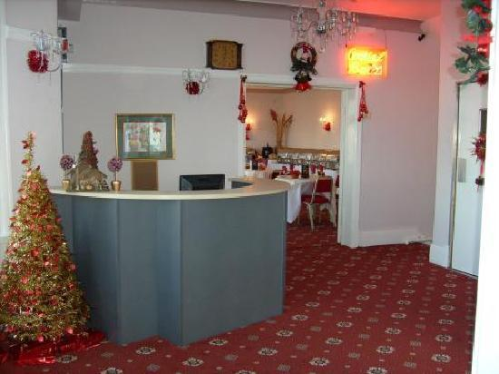Langwood Hotel: Reception