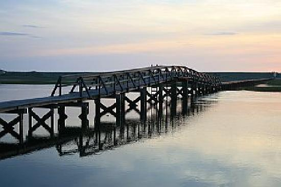 High Pointe Inn: Boardwalk sunrise
