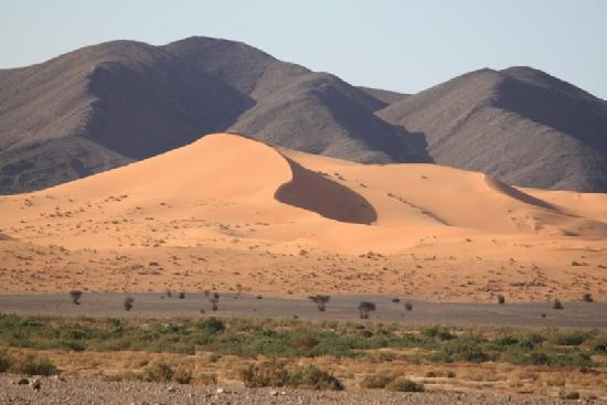 Kasbah Ouzina : El paisaje