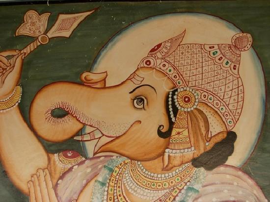 Ganesham Guest House: Under Ganesham's roof