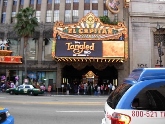 El Capitan Theatre: El Capitan front.