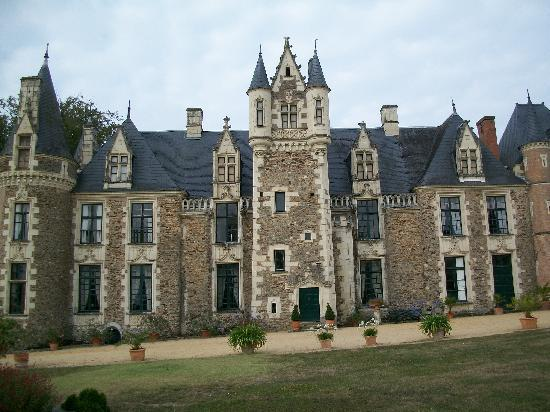 Angers, Francia: Chateau du Pin--approx. 20 min. from the city.