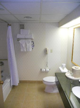 Crowne Plaza Hotel Englewood: Bathroom