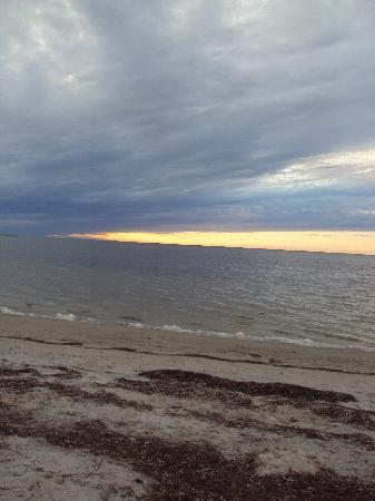 Tarpon Springs, FL: Sunset beach, fl