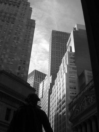 New York City, NY: A view from Wallstreet