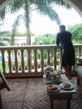 Iberostar Grand Hotel Paraiso: the balcony