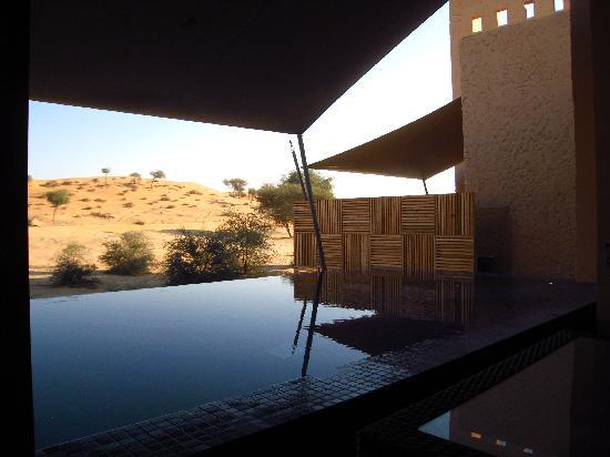 Banyan Tree Al Wadi: A balcony view