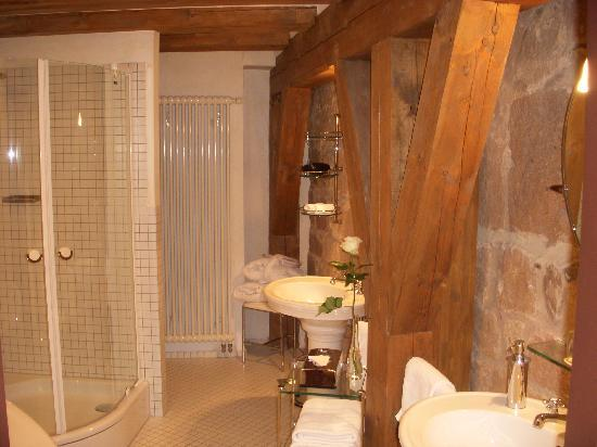 Hotel Burg Wernberg: Bathroom view 1
