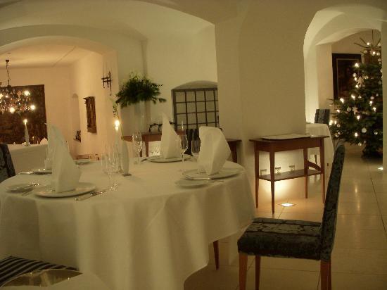Hotel Burg Wernberg : Kastell restaurant