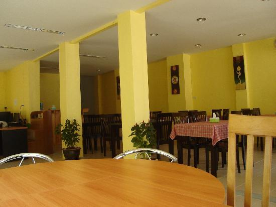 Pulaoon House: Our restaurant & Reception