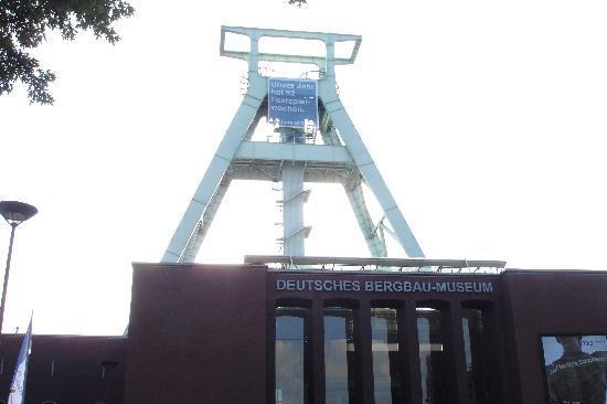 Deutsches Bergbau-Museum Bochum: Vor dem Eingang