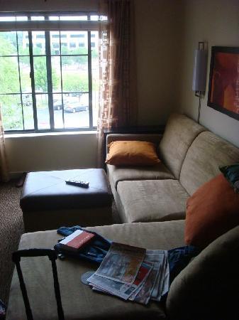 HYATT house Morristown : living room