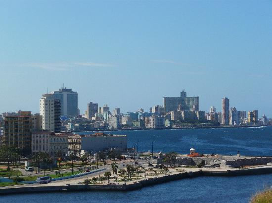 Havana, Cuba: vista de la habana desde la cabaña