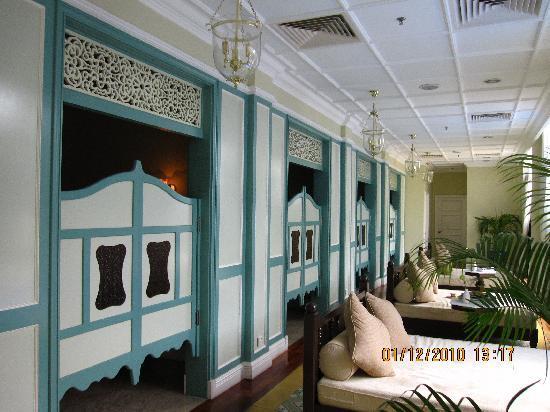 The Majestic Malacca: Spa area