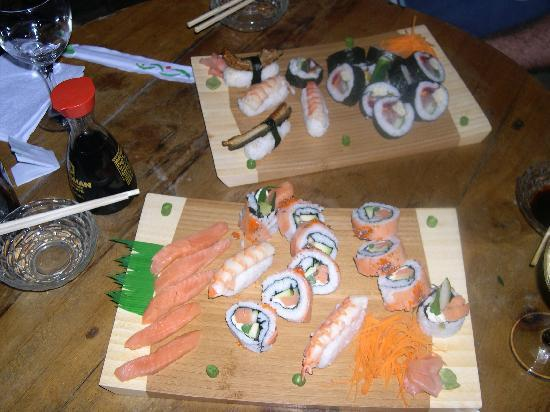 Por Que No: Really fresh sushi!