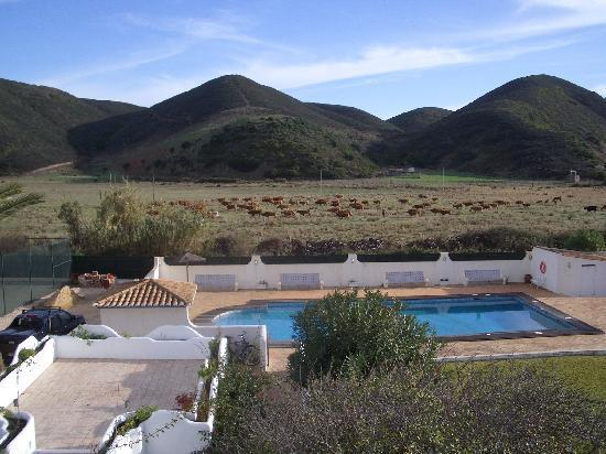 Casa Fajara Rustic Boutique House & Hotel: View from our room