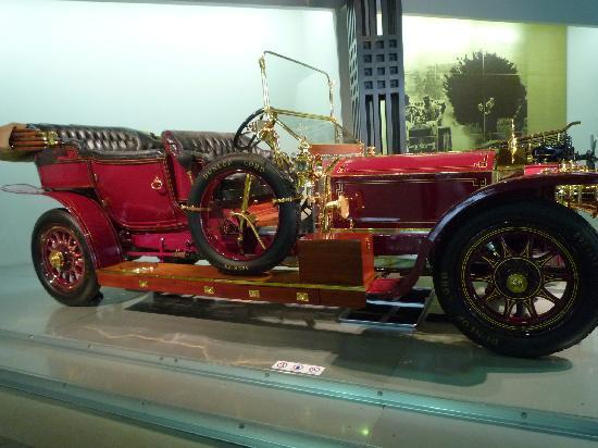 トヨタ博物館, 展示車