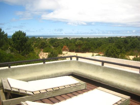 Posada Azul Marino: View from the balcony