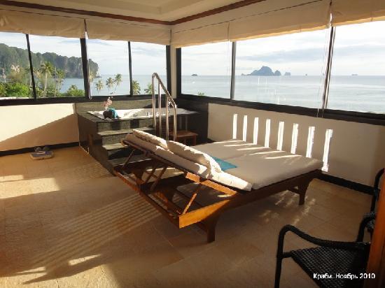 Aonang Terrace Hotel: Терраса пентхауса