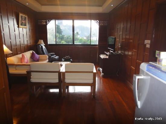 Aonang Terrace Hotel: Гостиная