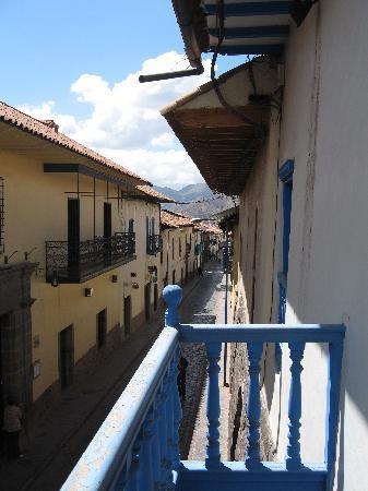 Tupac Yupanqui Palace Hotel : Balcony view