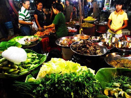 Cha-am, Tayland: Matstånd, c