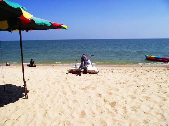 Cha-am, Thailand: Cha am beach