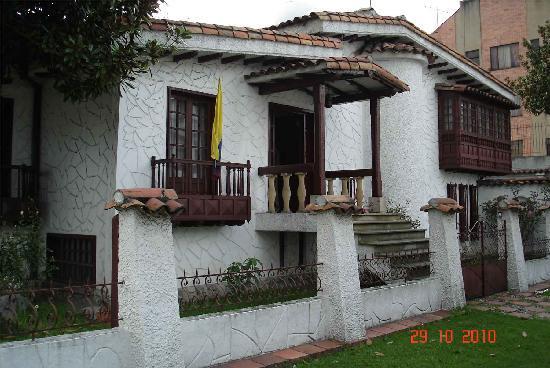 Casa Hotel Marques de la Plata: La bonita fachada