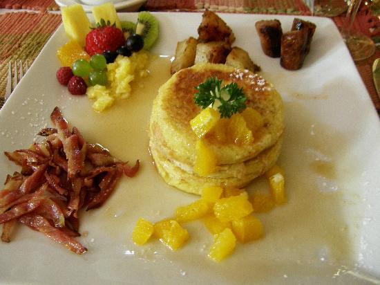 Historic Davy House B&B Inn: One of the gourmet breakfasts